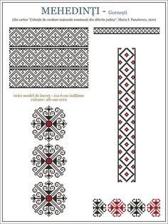 Орнамент Молдавия Румыния Embroidery Stitches Tutorial, Embroidery Motifs, Cross Stitch Embroidery, Modern Cross Stitch Patterns, Cross Stitch Designs, Palestinian Embroidery, Folk Fashion, Knitting Charts, Cross Stitching