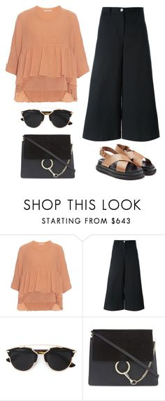 """Spring Chic"" by junglover ❤ liked on Polyvore featuring Chloé, Dolce&Gabbana, Christian Dior and Marni"