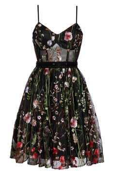 Pretty Outfits, Pretty Dresses, Cute Outfits, Cute Floral Dresses, Floral Lace Dress, Fit And Flare Cocktail Dress, Flare Dress, Vintage Cocktail Dress, Casual Cocktail Dress