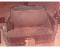 Parte posteriore fiat 500 per trasformarla in un divano
