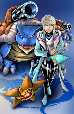 Pokemon Go Team Mystic - Blanche Art by Wil Woods of Musetap