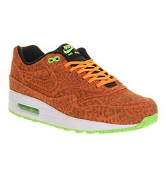 Nike Air Max 1 Leopard Gold Black White - His trainers