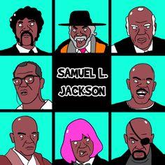 New party member! Tags: samuel l jackson brady bunch samuel jackson