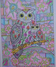 #owlscoloringbook #creativehavenowls #creativehavencoloringbooks #owlcolouringbook #creativehaven #colouring…