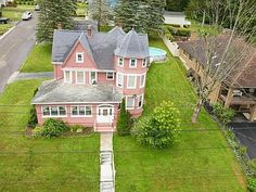 19 Burr Ave, Binghamton, NY 13903 | MLS #313083 | Zillow Above Ground Pool, In Ground Pools, Enclosed Front Porches, Oak Front Door, Huge Shower, Exit Realty, Oak Trim, Side Porch, Historic Architecture