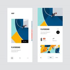 UX GEMS (WEB/UI/UX Design) в Instagram: «Hoop - Best courts near you by Lorenzo Dolfi»