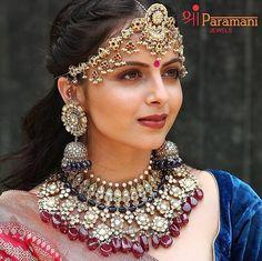 Trendy Jewelry, Jewelry Sets, Fashion Jewelry, Indian Tv Actress, Beautiful Indian Actress, Saree Wedding, Wedding Wear, Shrenu Parikh, Tashan E Ishq