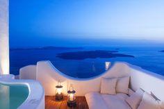 Native Eco Villa - Santorini, Greece   More pictures at http://luxurylifedesign.blogspot.com/2014/02/native-eco-villa-santorini-greece.html