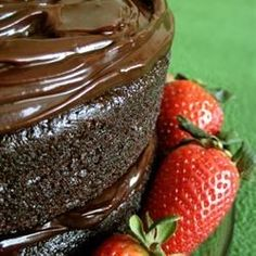 "One Bowl Chocolate Cake III | ""This is a rich and moist chocolate cake. It only takes a few minutes to prepare the batter. Frost with your favorite chocolate frosting."""