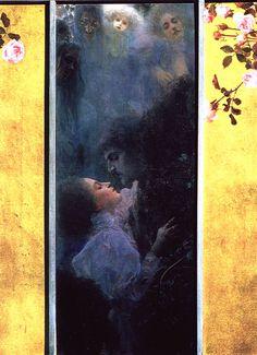 Gustav #Klimt • Amore, 1895