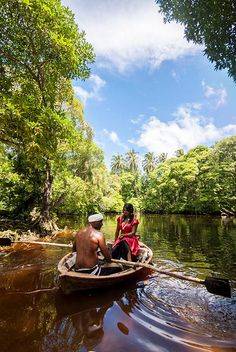 """Enjoy exploring the """"Paree Fengadu"""" or """"Fairy Lake"""" in a traditional rowing boat  at """"Amra Palace"""" in Gan Island, Laamu Atoll, Maldives.  Please visit us at:   https://www.maldive.com/en/guest-house/amra-palace"""