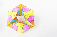 Paper Toys: Flextangles - This is a really cool art project that also explores materials and connections.  Honestly, it is just really cool and I am going to use this the last week of school!