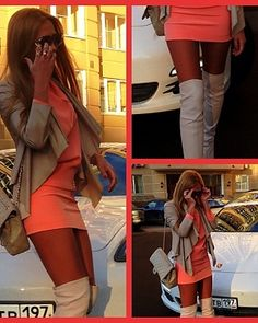love the over the knee boots!!!!