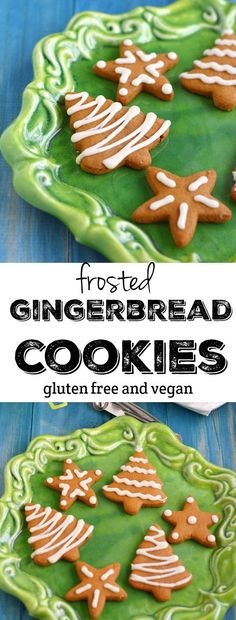Gingerbread cookies are a holiday favorite! This is a version everyone can enjoy because it is gluten free, vegan, and nut free!