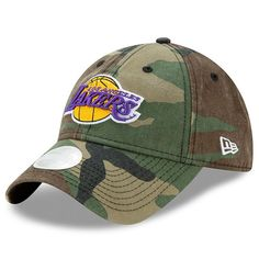 2f2a7378daef6d Los Angeles Lakers New Era Women's Preferred Pick 9TWENTY Adjustable Hat -  Camo