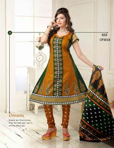 Latest Fashionable simple salwar kameez Wholesaler,Supplier,Exporter,Stockist and Manufacturer,Bollywood Celebrity Replica Anarkali Suit Dress materials,Readymade Designer Punjabi Wedding collection,Casual Printed Long Cotton exclusive party wear,best price sale tradditional indian womens clothes Churidar Suits, Anarkali Suits, Salwar Kameez, Suit Fabric, Bollywood Celebrities, Cotton Style, Different Patterns, Cotton Dresses, Party Wear