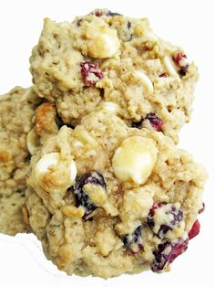 cranberry oatmeal white chocolate cookies more chocolate oatmeal ...