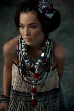 Jewellery by French designer Nadia Dafri