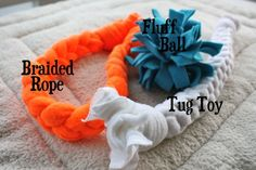 DIY dog toys - Click image to find more Animals Pinterest pins
