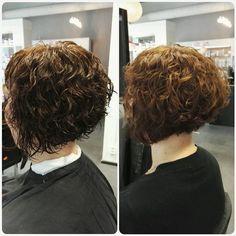 Patukoilla tehty permis ❤ Aina kiharan ei tarvitse olla kunnon säkkärää  Ennen kuva unohtui, tässä lopputulos kosteana ja kuivana. @hairbytiinahiltunen #permanentti #permis #kiharat #hiustenleikkaus #kampaamo #zaparo #torikatu3 #oulu #permanent #permanentcurls #haircut