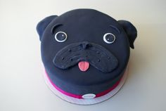 Adorable pug cake - Coco Cake Cupcakes--Vancouver BC by Lyndsay Sung