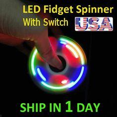 Metal Fidget Spinner, Music Speakers, Stocking Stuffers For Kids, Desk Toys, Fidget Toys, Stress And Anxiety, Best Games, Edc, Black