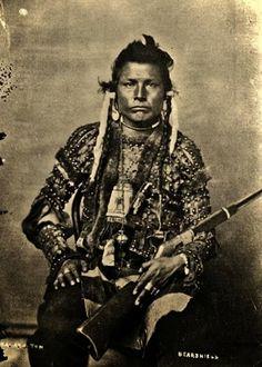 Blackfoot Indians | Blackfoot Indian called Bear Shield