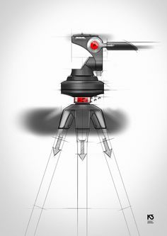 K3 Tripod on Behance