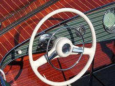 Guess how much this steering wheel cost to restore = no telling!