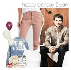 """happy birthday Dylan!"" by dipx1d ❤ liked on Polyvore featuring Refuge, H&M, Topshop and Clinique"