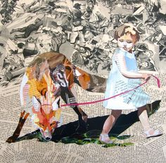 Collages by Pat Bremer