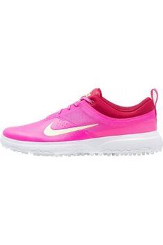 super popular 7f582 f534c Mujer Zapatillas deportivas – Nike AKAMAI Zapatos de golf pink blast barely  volt noble