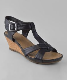 Another great find on #zulily! Black Divya Sandal #zulilyfinds