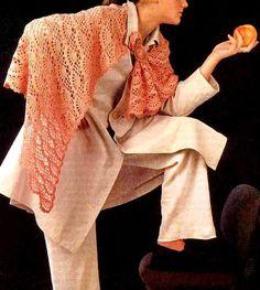 Crochet Shawls: Crochet Lace Shawl Pattern - Wonderful Women's Shawl chart