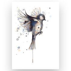 Fuglen som flyr