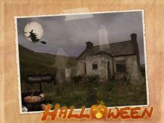 Halloween foto collage