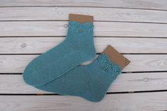 Hand knit socks Knitted socks Womans socks Wool by LarasKnitStudio