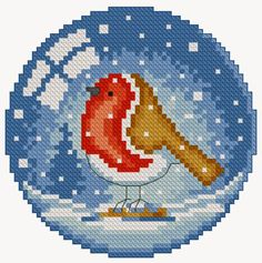 Thrilling Designing Your Own Cross Stitch Embroidery Patterns Ideas. Exhilarating Designing Your Own Cross Stitch Embroidery Patterns Ideas. Cross Stitch Bird, Cross Stitch Charts, Cross Stitching, Cross Stitch Embroidery, Embroidery Patterns, Cross Stitch Patterns, Hama Beads Christmas, Christmas Cross, Iron Beads