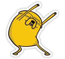 Jake the dog Sticker