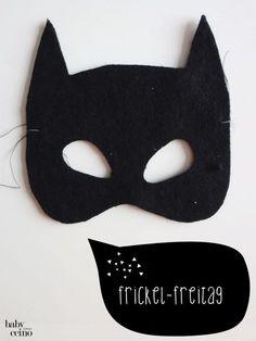 DIY - Batman Karnevals-Kostüm (nachhaltig, upcycling)