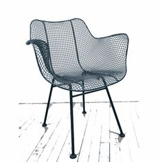 $490 Biscayne Wire Chair - indoor / outdoor