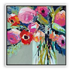 Erin Gregory, Signs Of Summer I - Paintings - Art - Art & Mirrors | One Kings Lane