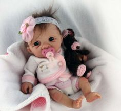 Reborn Baby Boy Dolls, Newborn Baby Dolls, Baby Girl Dolls, Silicone Baby Dolls, Silicone Reborn Babies, Cute Polymer Clay, Polymer Clay Dolls, Baby Doll Strollers, Baby Barbie