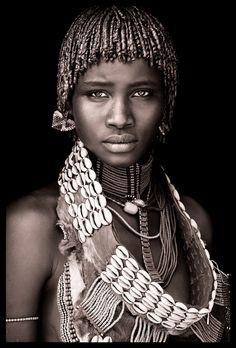 Ethiopia - Omo Black & White