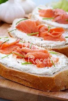 Photo de la recette Tartine de saumon fumé au fromage frais