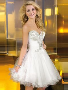2014 Style A-line Sweetheart Rhinestone Homecoming Dresses/Cocktail Dresses #GC725  http://www.beckydress.com/2014-style-a-line-sweetheart-rhinestone-homecoming-dresses-cocktail-dresses-gc725.html