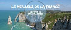 Top 10 des plus beaux paysages de France - The Path She Took Paris, Plein Air, The Good Place, Around The Worlds, Amazing Places, France, Landscapes, Montmartre Paris, Paris France