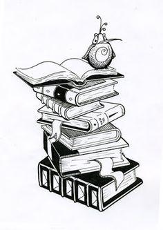 Fantastic tattoo idea for a book worm!