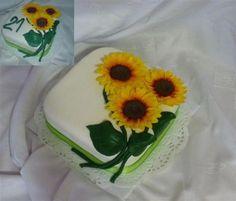 Slnečnice , Kvety, fotopostupy | Tortyodmamy.sk