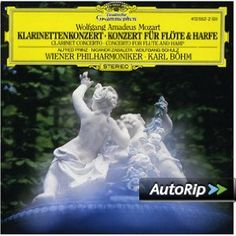 Mozart's clarinet and flute and harp concertos - one of my all time favourite recordings and pieces Mozart Clarinet Concerto, James Galway, Wiener Philharmoniker, Amadeus Mozart, Glenn Miller, Classical Music, Vinyl Records, All About Time, Ebay